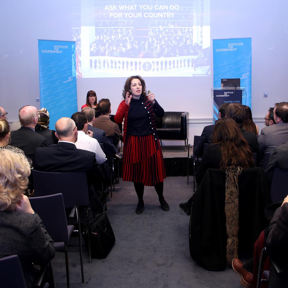 Beth Noveck: Smart Citizens, Smarter State